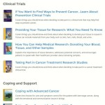 NCI Patient Resources